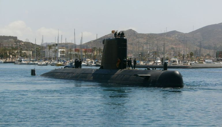 El submarino Mistral