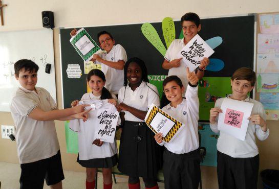 El Colegio Sagrada Familia de Alicante colabora con Ropa Deportiva Hecha con Amor.
