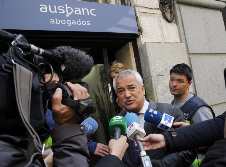 Luis Pineda, el día que fue detenido