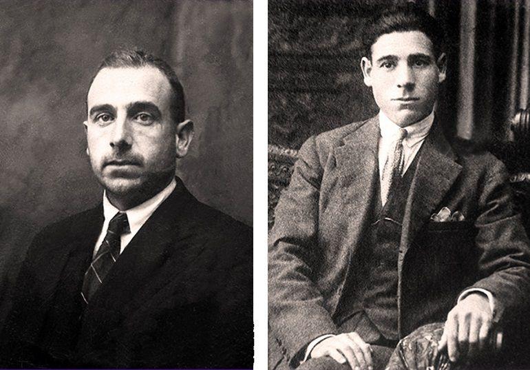 Los hermanos Lapeña Altabas.