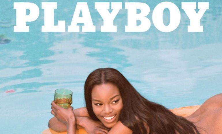 Eugena Washington: Playboy inaugura su portada más