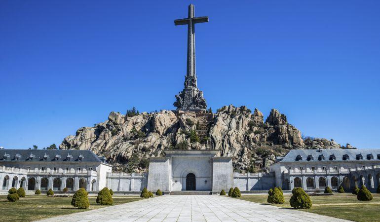 Panorámica del conjunto monumental del Valle de los Caídos.