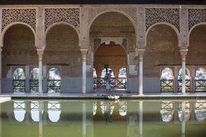 El 'trakker' de Google, el aparato para captar imágenes de alta resolución en 360º. En la Alhambra de Granada.