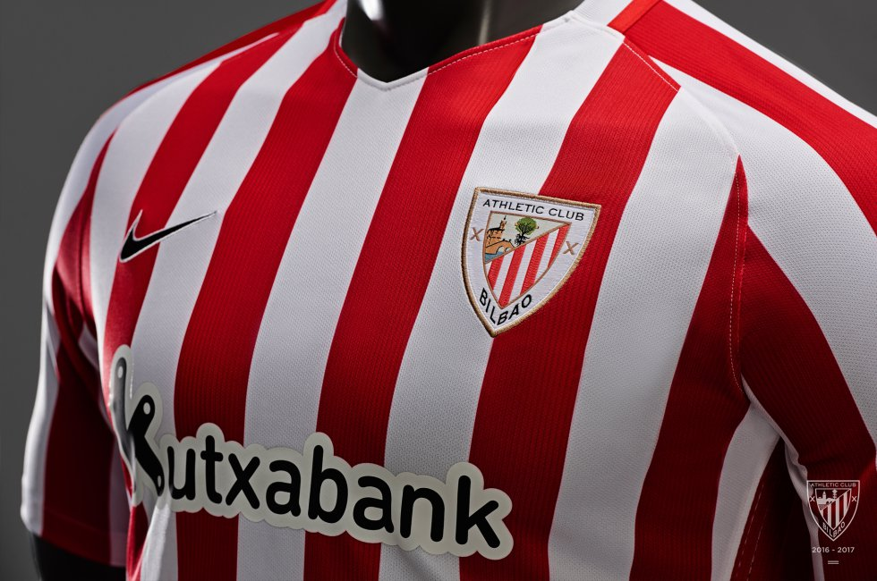 El Athletic presenta sus camisetas para la temporada 2017