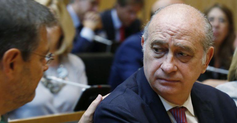 El ministro en funciones del Interior, Jorge Fernández Díaz.