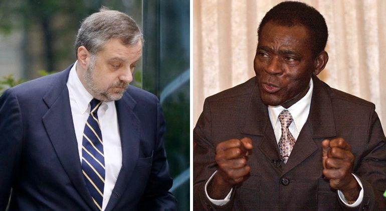 Gustavo de Arístegui cambió su actitud con Teodoro Obiang cuando comenzó a hacer negocios con él
