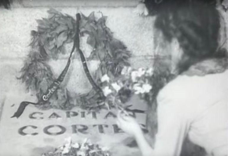 Fotograma de la película que glorifica al bando franquista durante la Guerra Civil.