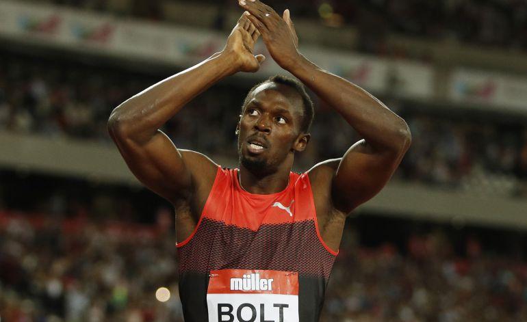 Bolt ganó, pero carrerón de Bruno Hortelano.