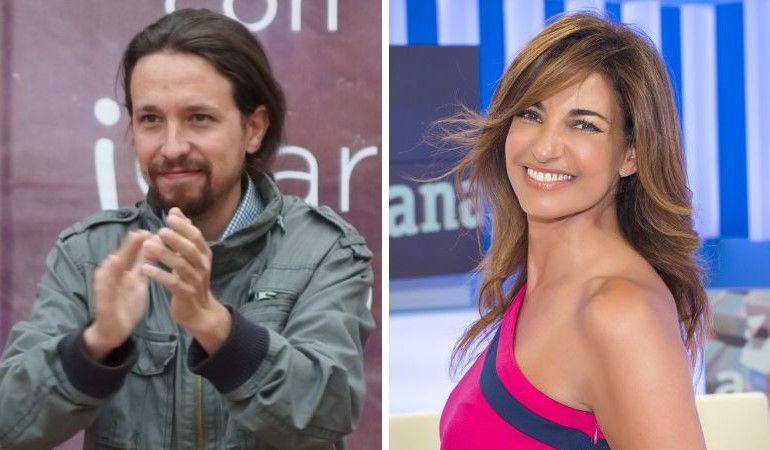 Pablo Iglesias y Mariló Montero, en dos imágenes de archivo