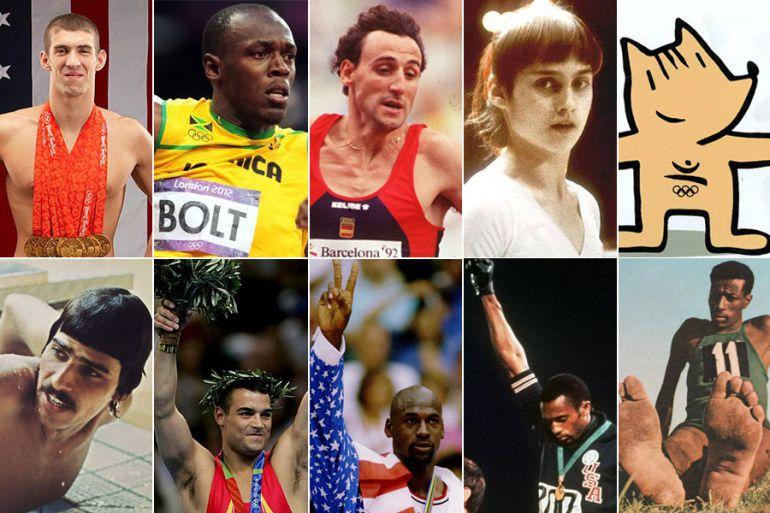 Algunos de los nombres propios de la historia del olimpismo