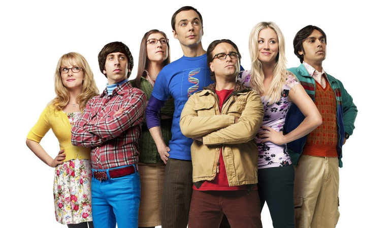Reparto principal de 'The Big Bang Theory'
