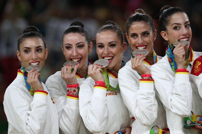 El quinteto español muerde su medalla de plata