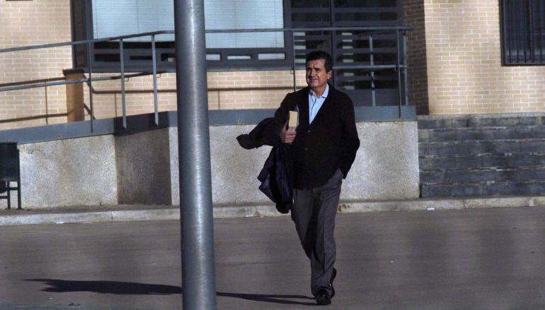 Imagen de archivo del expresident balear saliendo de la cárcel de Segovia