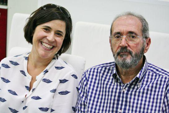 Ana Ruipérez se apuntó a clases de cocina para conocer gente y Juan Carlos Oltra, para distraerse después de un tiempo hospitalizado.