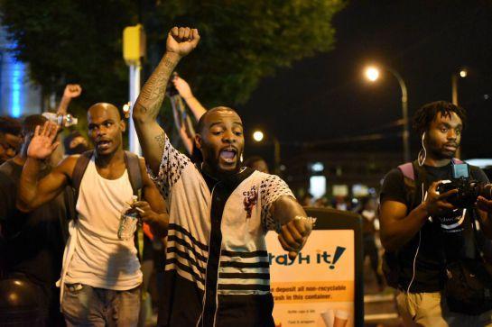 FOTOGALERÍA | Toque de queda en Charlotte por los disturbios