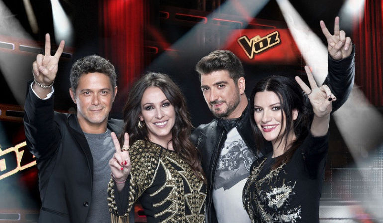 Los coaches de la tercera edición de 'La Voz'