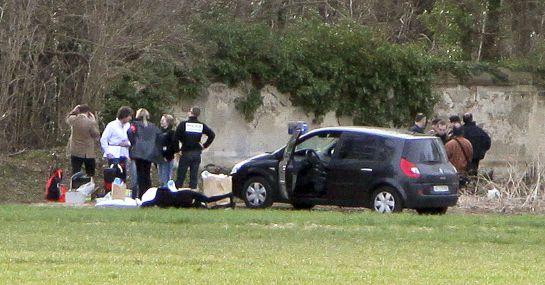 ETA asesinó a un policía francés en Dammarie-lès-Lys.