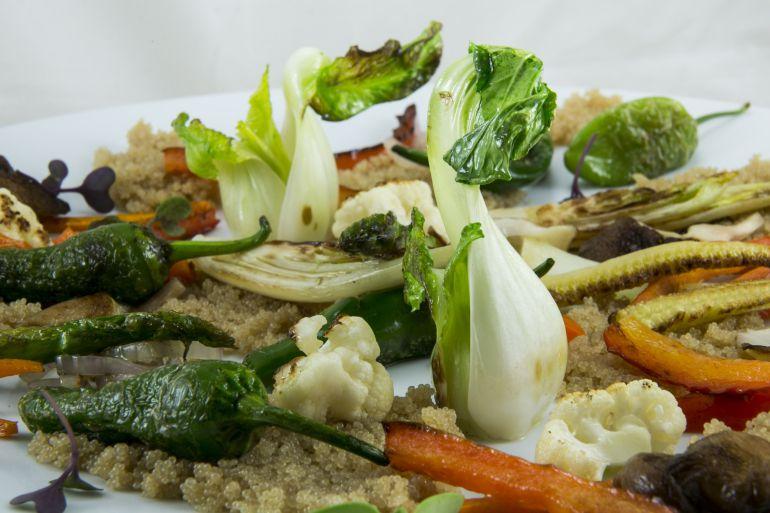 ¡Festín vegetal!