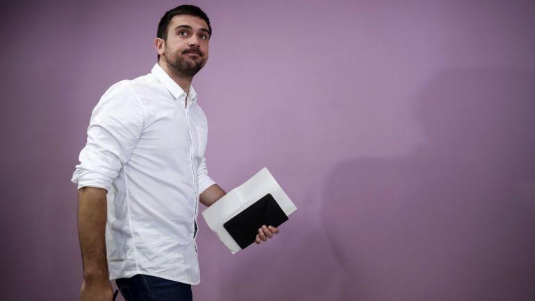 El parlamentario autonómico de Podemos Ramón Espinar.