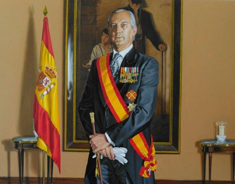 El director de la Guardia Civil Arsenio Fernández de Mesa