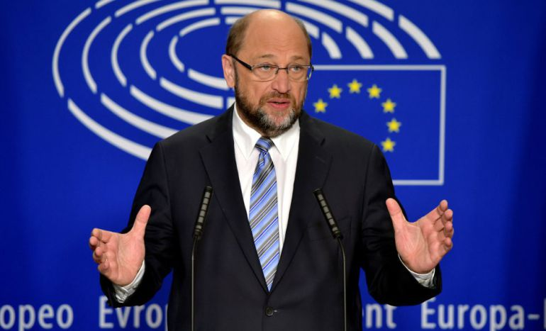 El presidente de Europarlamente, Martin Schulz, en una fotografía de archivo