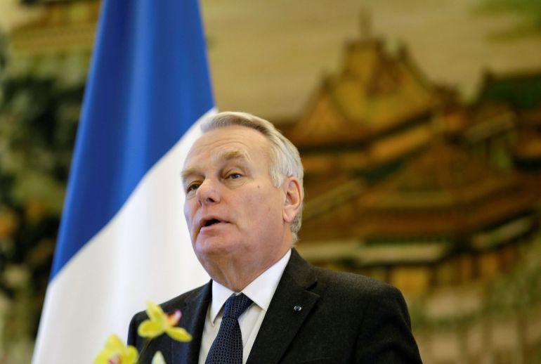 El ministro francés de Asuntos Exteriores, Jean-Marc Ayrault.