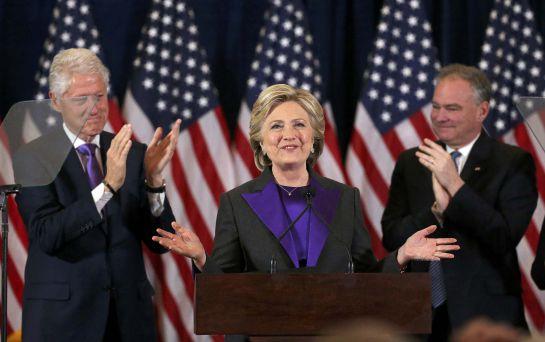 """Elecciones EEUU: Hillary admite horas después su derrota: """"Es doloroso y decepcionante"""""""