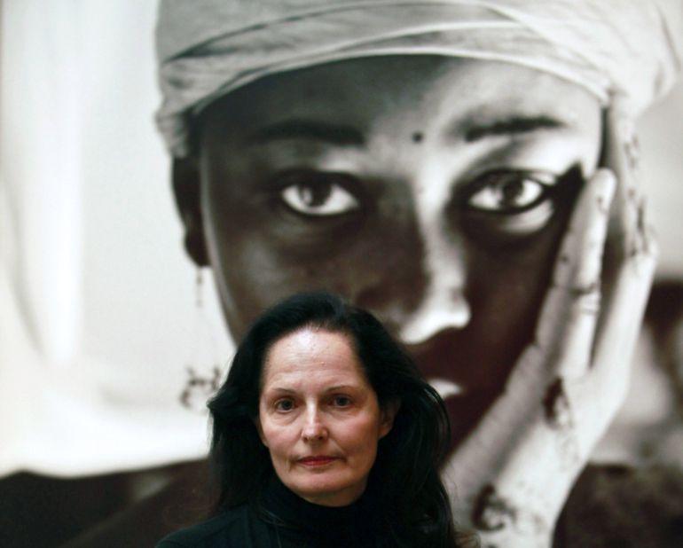 La fotógrafa Isabel Muñoz galardonada con el Premio Nacional de Fotografía 2016, que concede el Ministerio de Educación, Cultura y Deporte y está dotado con 30.000 euros.