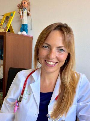 La pediatra Lucía Galán.