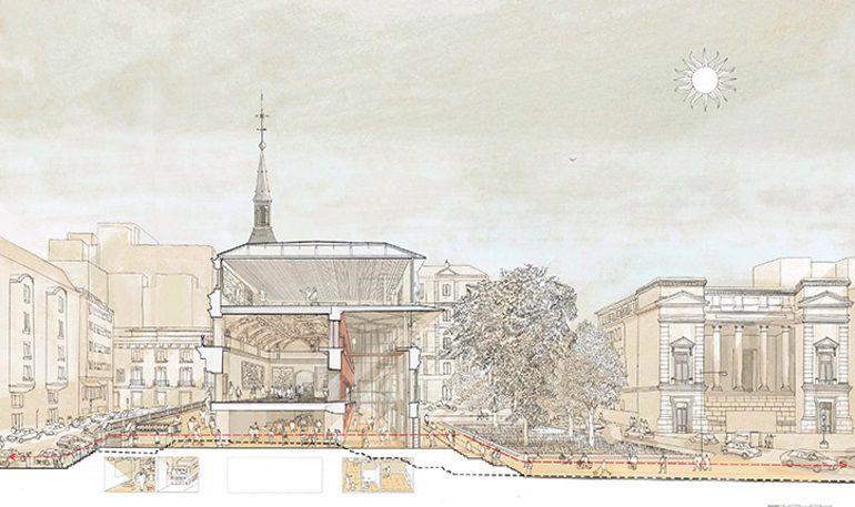 El Museo del Prado expondrá la propuesta ganadora y las presentadas por los otros equipos finalistas del concurso a partir del día 1 de diciembre.