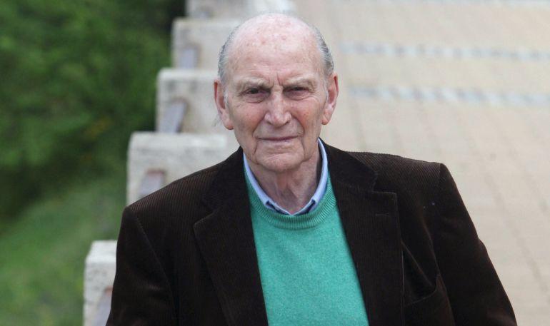 Fotografía de abril de 2010 de Marcos Ana, fallecido a los 96 años.