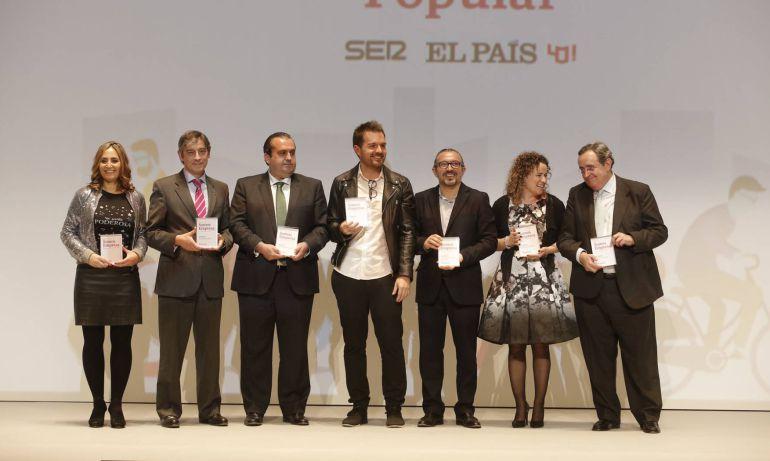 Los galardonados por el premio Somos Empresa