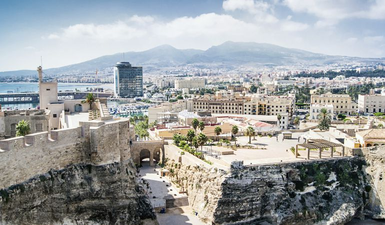Una vista de la ciudad de Melilla.