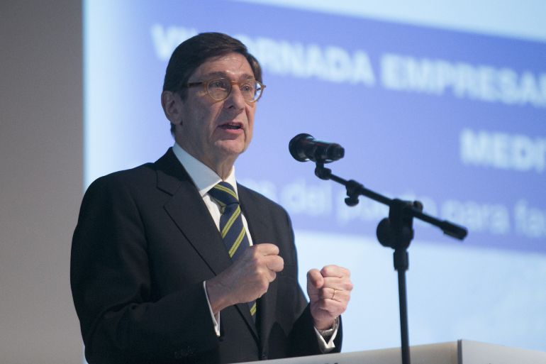 El presidente de Bankia, Jose Ignacio Goirigolzarri.