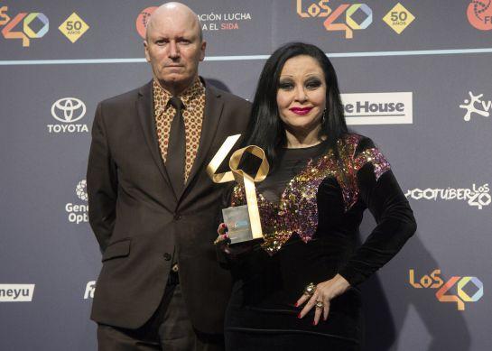 Fangoria, tras recibir el Premio Golden