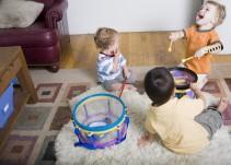 Cuidado con los juguetes ruidosos