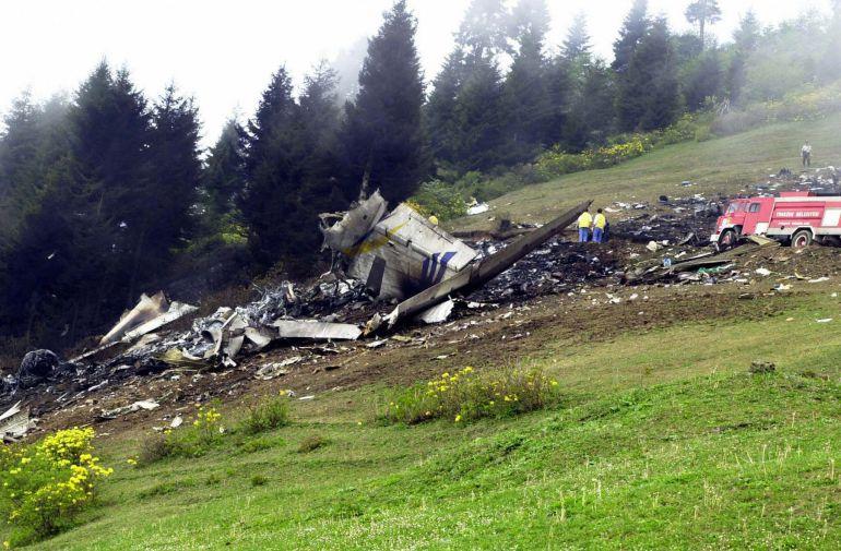 El accidente ocurrió el 26 de mayo de 2003 en Turquía