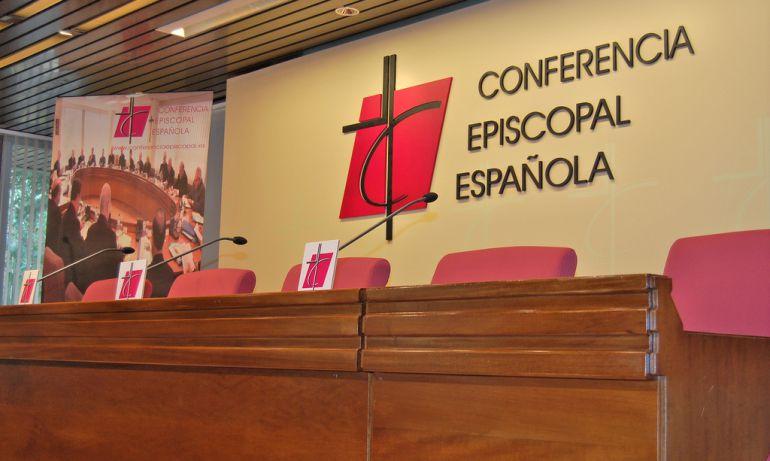 Sala de prensa de la Conferencia Episcopal Española