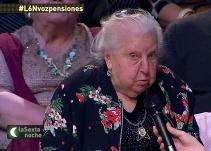 La pensionista que puso patas arriba 'laSexta Noche': Tengo 91 años, pero no soy gilipollas