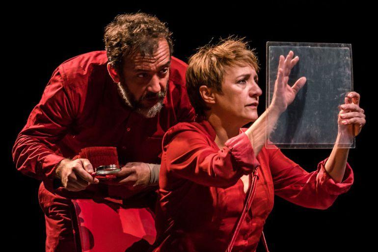 Imagen promocional de 'El Cartógrafo', dirigida por Juan Mayorga