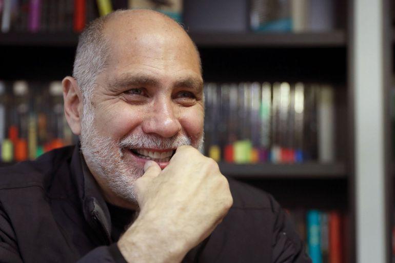 El escritor mexicano Guillermo Arriaga, en Madrid tras presentar su último trabajo, 'El Salvaje', su regreso a la novela tras 16 años