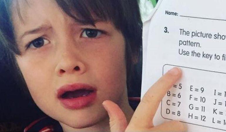 Eres capaz de resolver este problema matemático para niños de ...