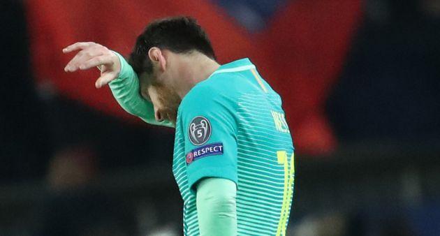 Messi, al acabar el partido