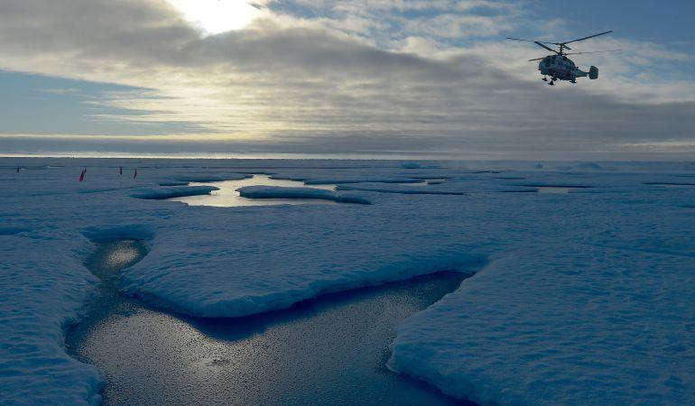 El deshielo del Polo Norte cada vez es más evidente.