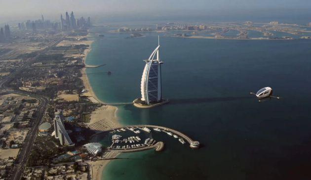 El nuevo medio de transporte de Dubái.