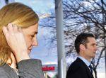 GRA144. MADRID, 17/02/2017.- Fotografía de archivo (11/02/2016), de la Infanta Cristina y su esposo Iñaki Urdangarin, a la salida de la Escuela Balear de la Administración Pública (EBAP), tras la cuarta jornada del juicio del caso Nóos. La Infanta ha sido absuelta y su esposo ha sido condenado hoy por la Audiencia de Palma a 6 años y 3 meses de prisión por enriquecerse con fondos públicos a través de la trama corrupta de contratación con administraciones que organizó en torno a la asociación sin ánimo de lucro Instituto Nóos. EFE/Atienza