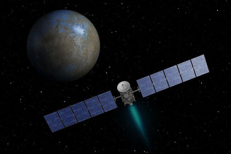 Ceres se suma a la listas de planetas que han podido albergar vida.