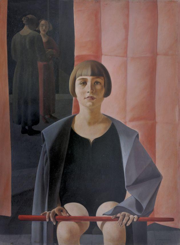 Óleo 'Ritratto di Renato Gualino' de Felice Casorati, 1923.
