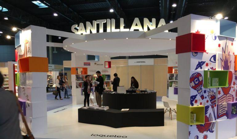 'Stand' de Santillana en Liber 2016.