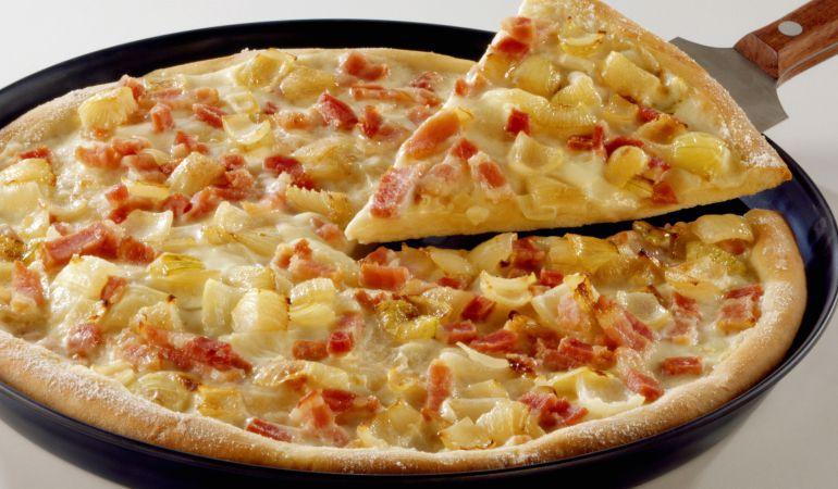 La polémica pizza con piña.